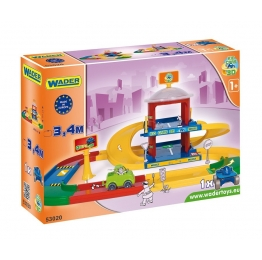 Гараж Wader Kid Cars 3D 2 этажа (3,4 м)
